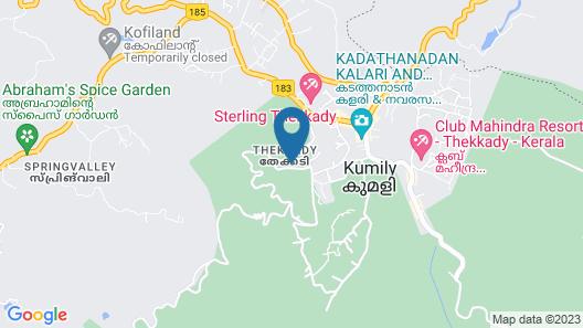 Salaams Raama Heritage Eco Village Map