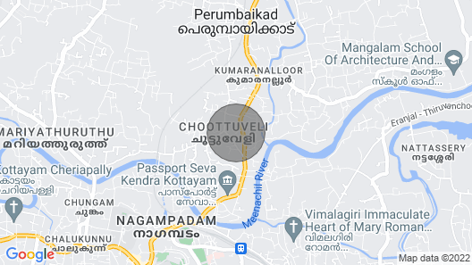 Premium 2 bed Flat in a Quiet Neighborhood in Kottayam Town With a View Map