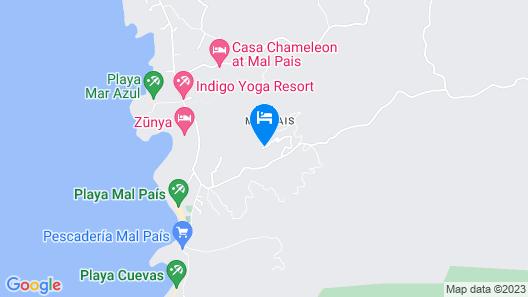 Villa Numu Map