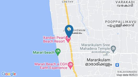 Xandari Pearl Map