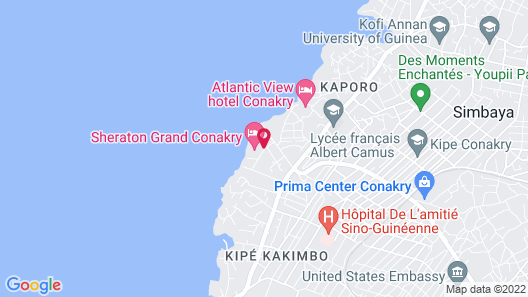 Sheraton Grand Conakry Map