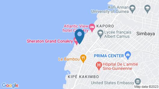 Sheraton Grand Conakry Map