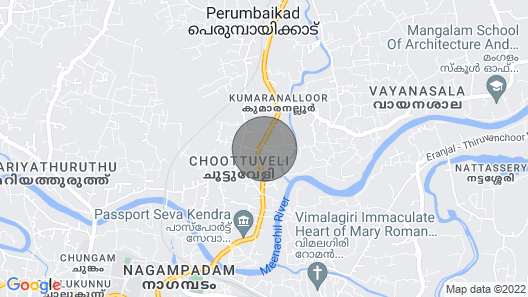 Large villa in kottayam town with 6 bedrooms Map