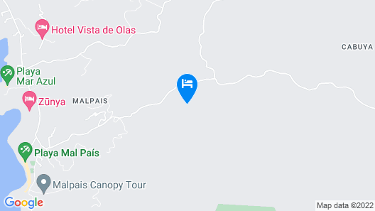 Star Mountain Jungle Lodge Map