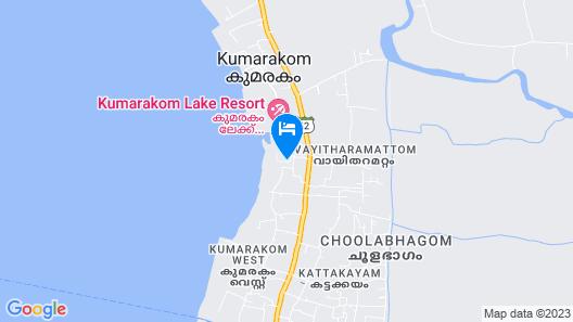 Niraamaya Retreats Backwaters & Beyond Map