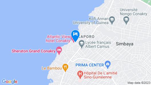 Atlantic View Hotel Map