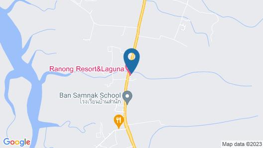 Ranong Resort and Laguna Map