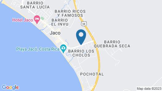 Hotel Amapola Map