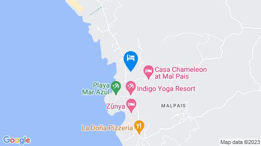 Moana Lodge Map