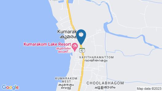 Ashirwad Heritage Resort Map