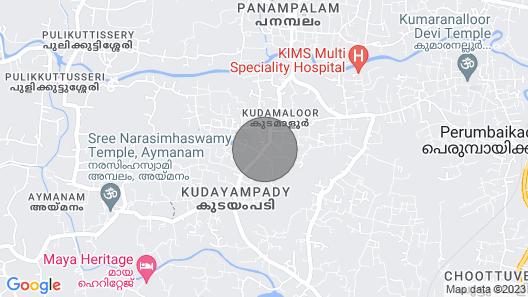 Royal Palm Resort, Kottayam - A True Hidden Gem Map
