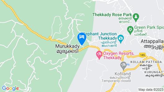Amritara Shalimar Spice Garden Map