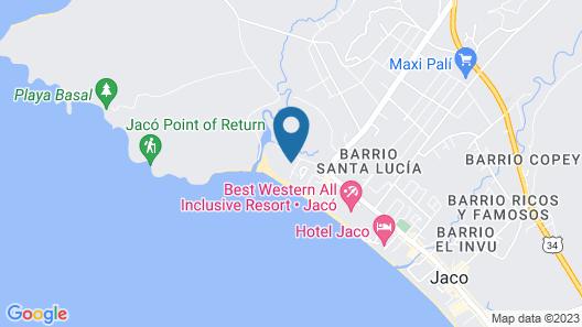 Crocs Resort & Casino Map