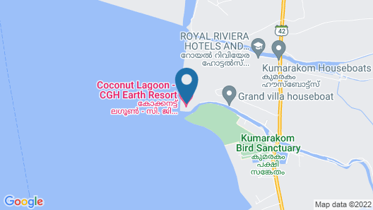 Coconut Lagoon-Cgh Earth Map