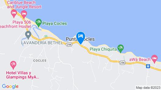 Hotel Aguas Claras Map