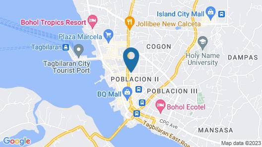 GV Hotel Tagbilaran Map