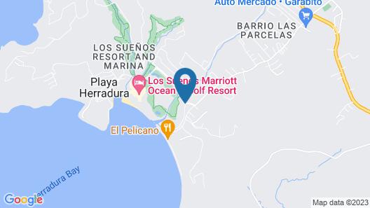 Bella Vista Luxury Condo at Los Suenos Resort Map
