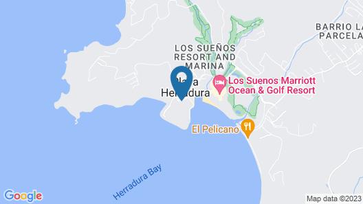 CR Luxury Los Sueños Condos Map