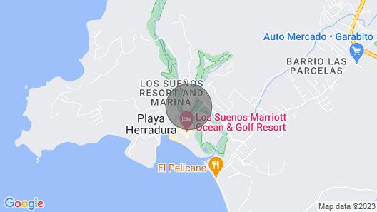 Los Suenos-marriott Resort Deluxe Condo. Affordable Luxury!! Map