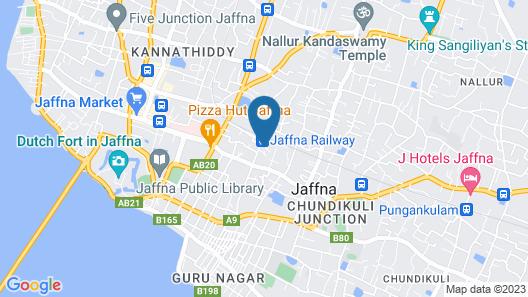 VALAMPURI HOTEL Map