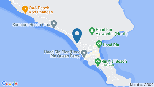 Coral Bungalows Map