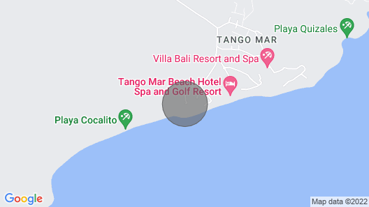 Tango Mar Beach House with Infinity Pool! Map