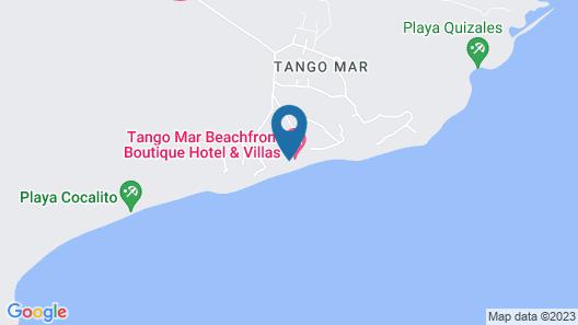 Tango Mar Beachfront Boutique Hotel &Villas Map