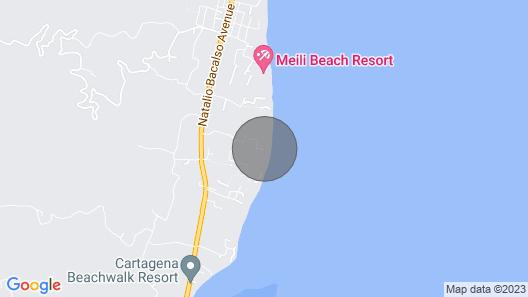 Ahoj Inn Ocean View Map