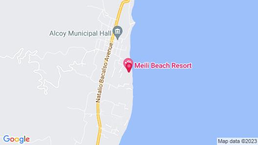 Meili Beach Resort Map