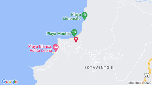 Hotel Punta Leona Map