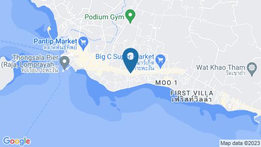 Phangan Island View Hotel Map