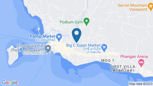 Phatchara Boutique Hotel - Hostel Map