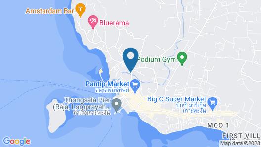 Dreamville Koh Phangan Map