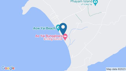 Phayam Coconut Beach Resort Map