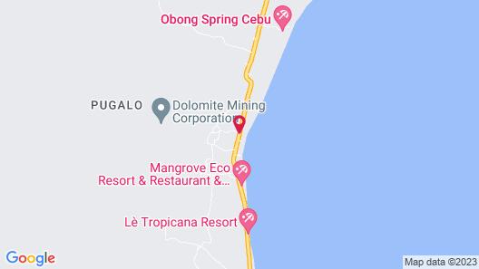 Larville Pool Garden Resort & Restaurant Map