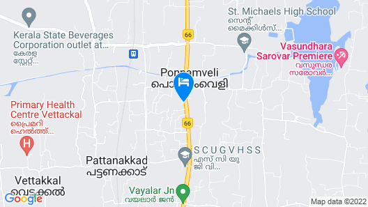 Premium Home Stay With In-house Ayurveda Body Massage Map