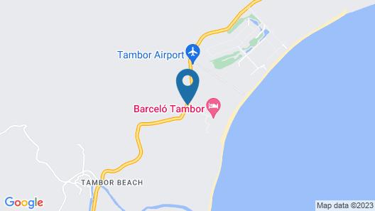Barceló Tambor Map