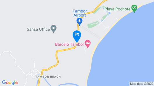 Barceló Tambor Map