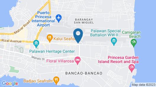 RedDoorz Plus @ Rizal Avenue Palawan Map