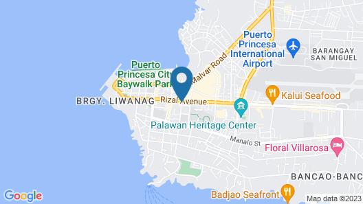 Circon Businessman's Inn Map