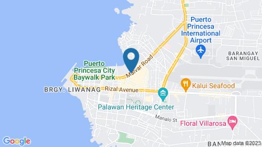 Palawan Palm Suites Map