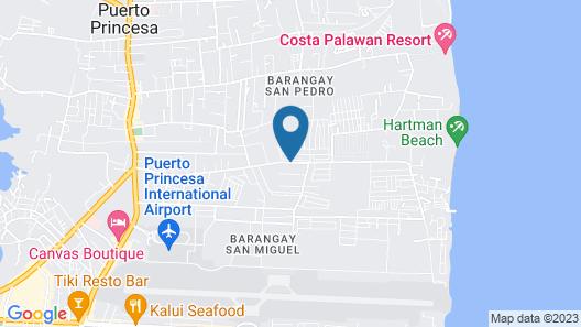 Roccksar Pension Hotel Map