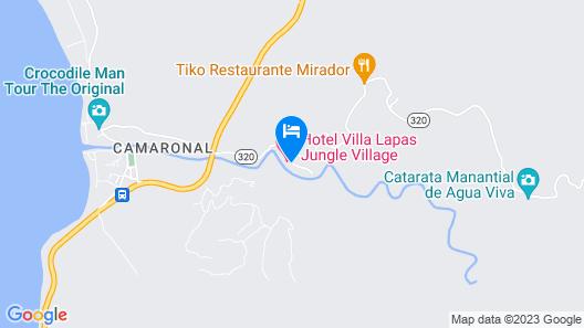 Villa Lapas Jungle Village Map