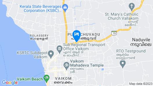 Whitegate Residency Map