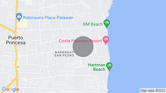 One Bedroom House Close to Beaches Map