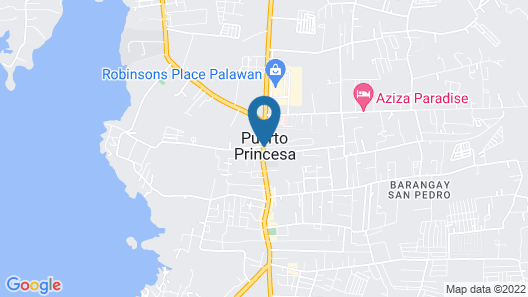 Hotel Centro Map