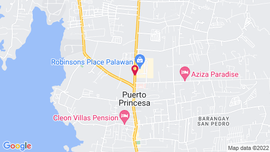 Hue Hotels and Resorts Puerto Princesa Managed by HII Map