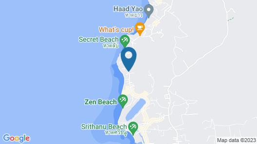 Sunset Cove Resort Map
