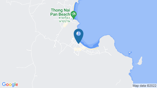 PingChan Beachfront Resort Map