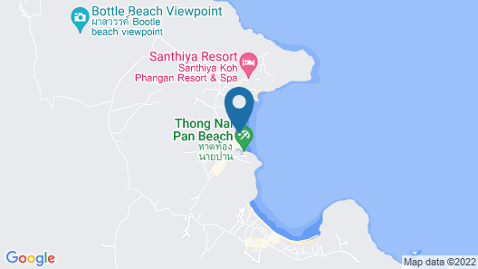 Anantara Rasananda Koh Phangan Villas Map